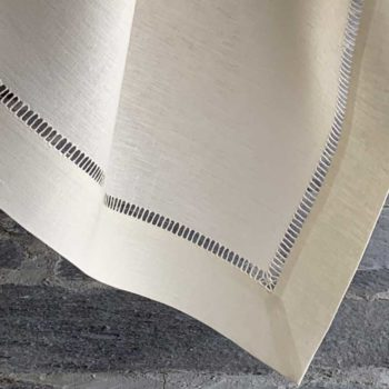 Tovaglia di lino 'bastoncino' - La Bottega di Casa