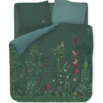 copripiumino babylons garden verde - la Bottega di Casa